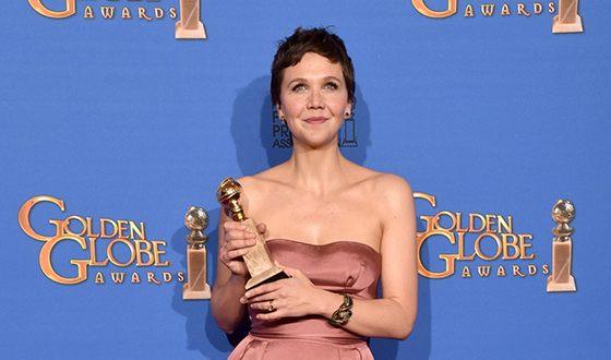 За роль в сериале «Благородная женщина» Мэгги Джилленхол удостоилась «Золотого глобуса»